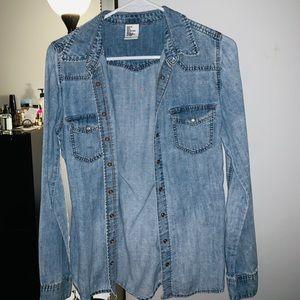 H&M Women's  Jean Shirt